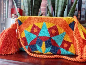Colombian Wayuu HandBag - Design C