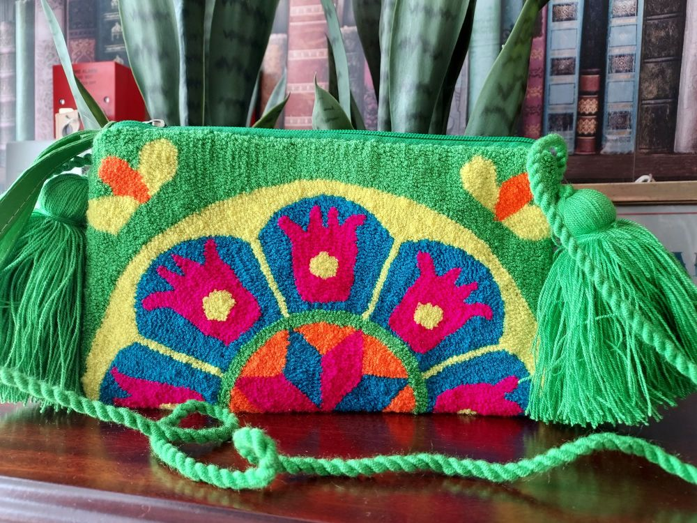 Colombian Wayuu HandBag - Design W