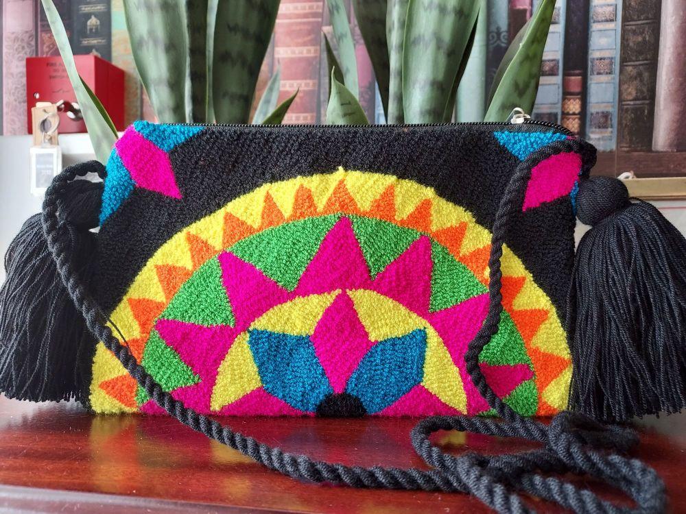 Colombian Wayuu HandBag - Design X