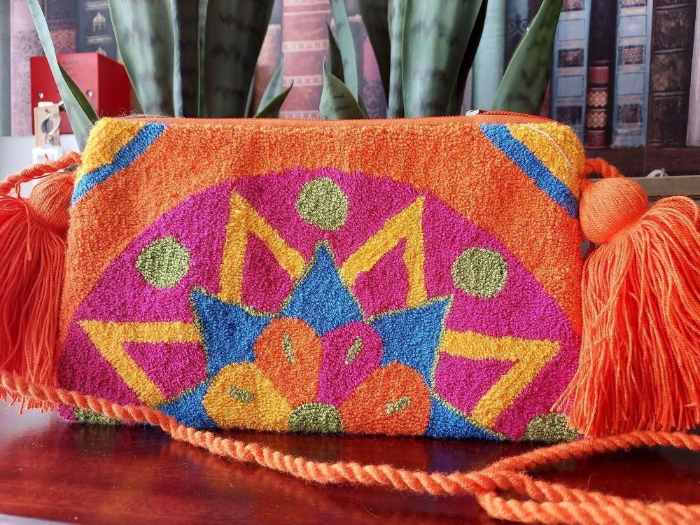 Colombian Wayuu HandBag - Design V