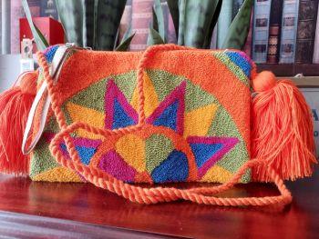 Colombian Wayuu HandBag - Design U