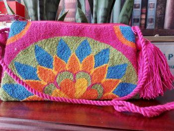 Colombian Wayuu HandBag - Design T