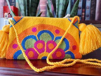 Colombian Wayuu HandBag - Design S