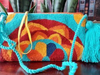 Colombian Wayuu HandBag - Design R