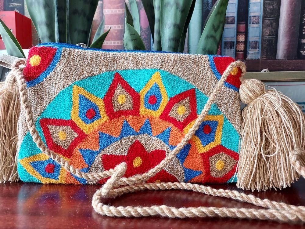 Colombian Wayuu HandBag - Design P