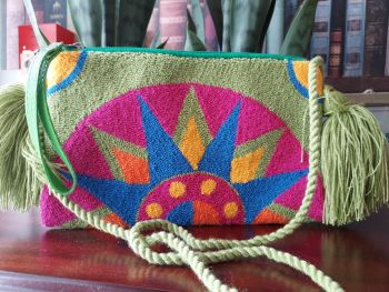 Colombian Wayuu HandBag - Design M