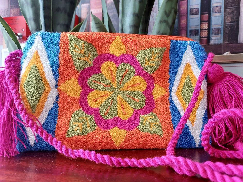 Colombian Wayuu HandBag - Design K