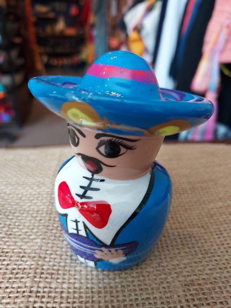 Mariachi Tequila Salt Shaker -B