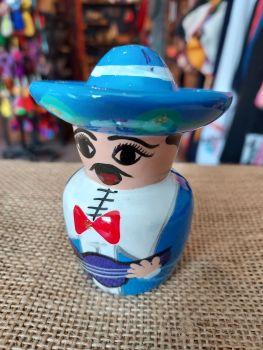 Mariachi Tequila Salt Shaker -A
