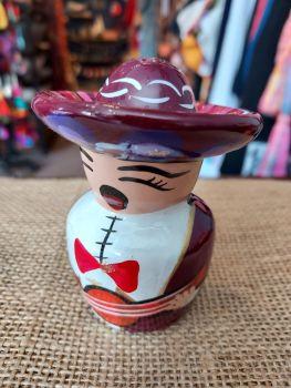 Mariachi Tequila Salt Shaker -G