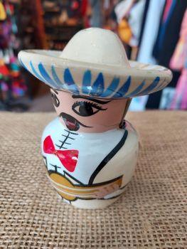 Mariachi Tequila Salt Shaker -H
