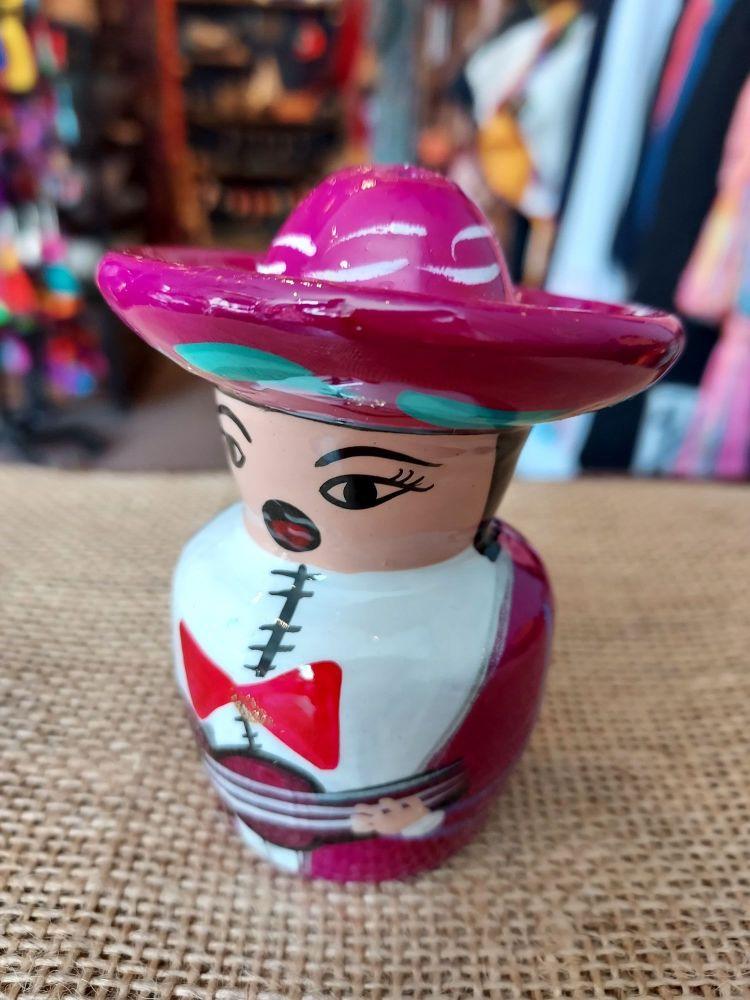 Mariachi Tequila Salt Shaker -C