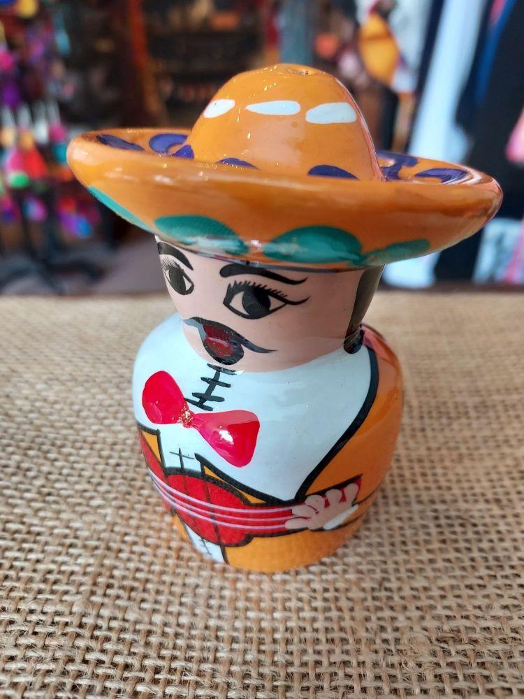 Mariachi Tequila Salt Shaker -F