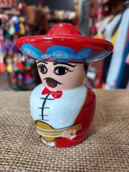 Mariachi Tequila Salt Shaker -J