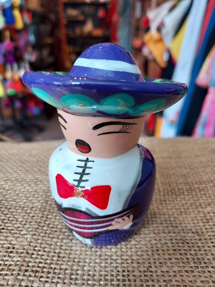 Mariachi Tequila Salt Shaker -E