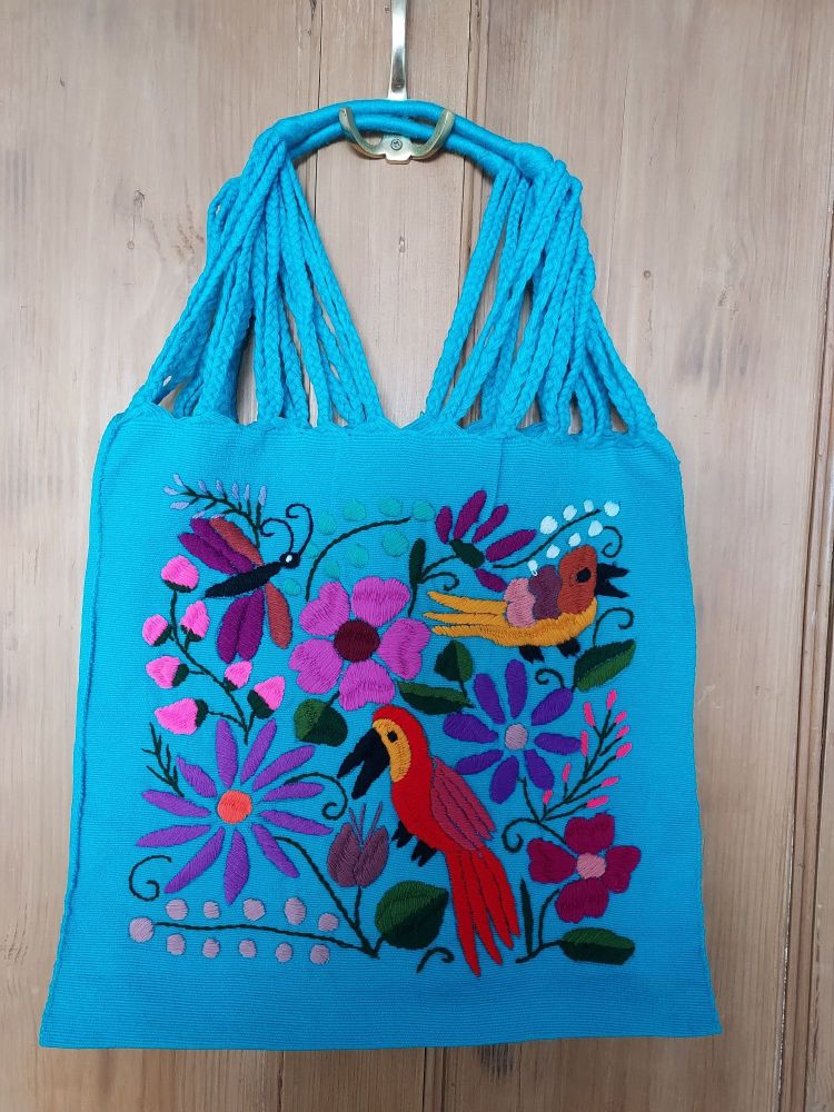 Embroidered Mexican Bag - JJ