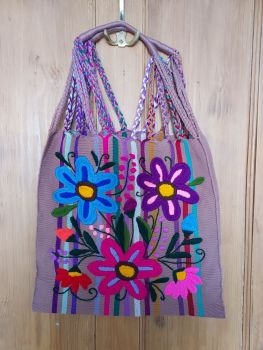 Embroidered Mexican Bag - II