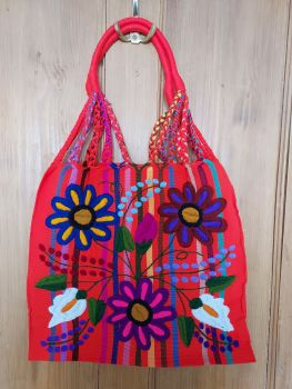 Embroidered Mexican Bag - HH