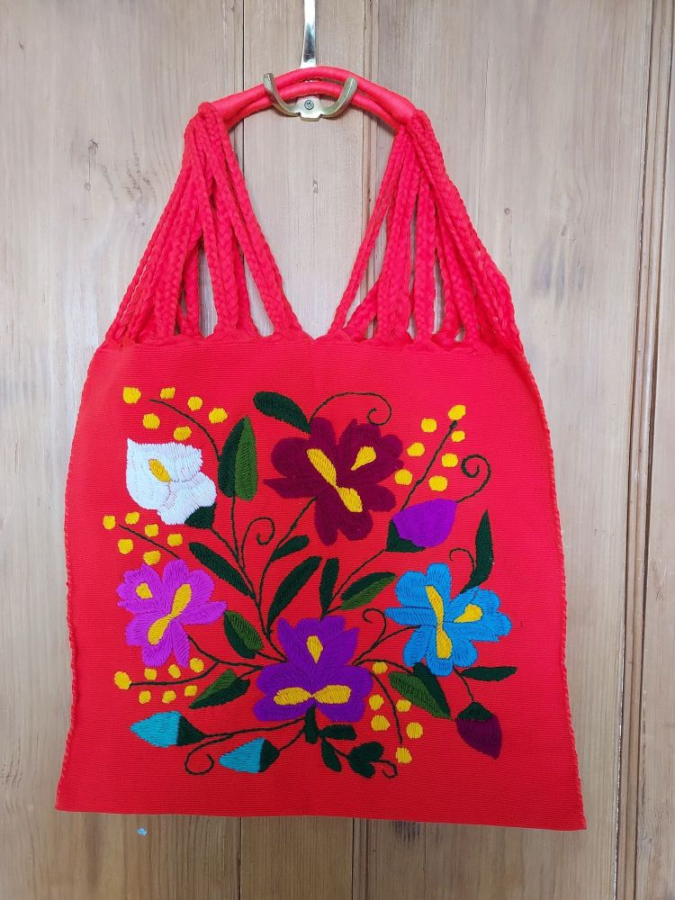 Embroidered Mexican Bag - GG