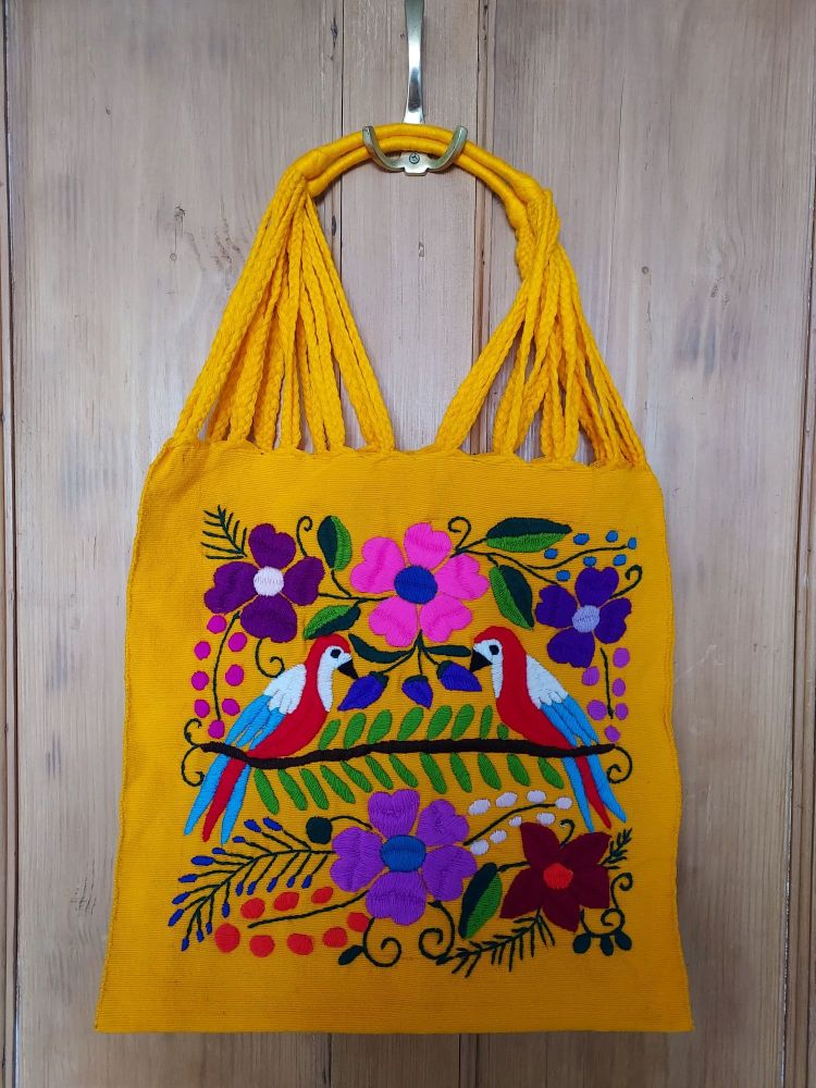 Embroidered Mexican Bag - FF