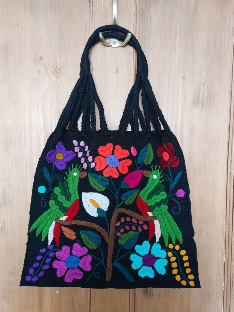 Embroidered Mexican Bag - EE