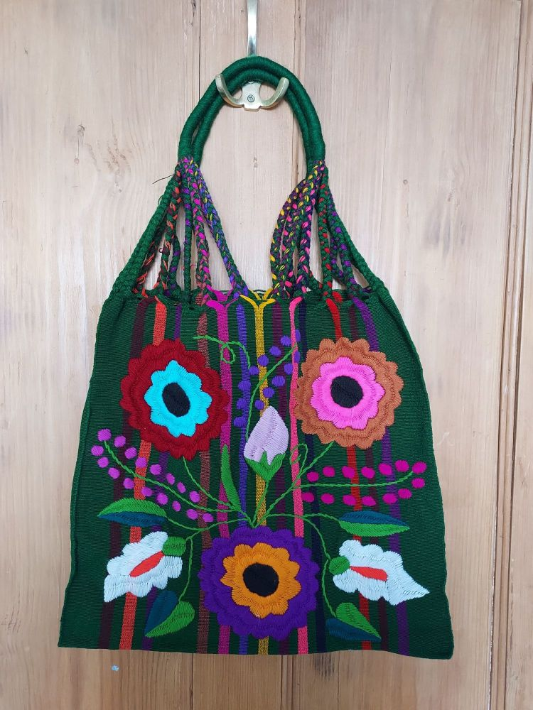 Embroidered Mexican Bag - DD