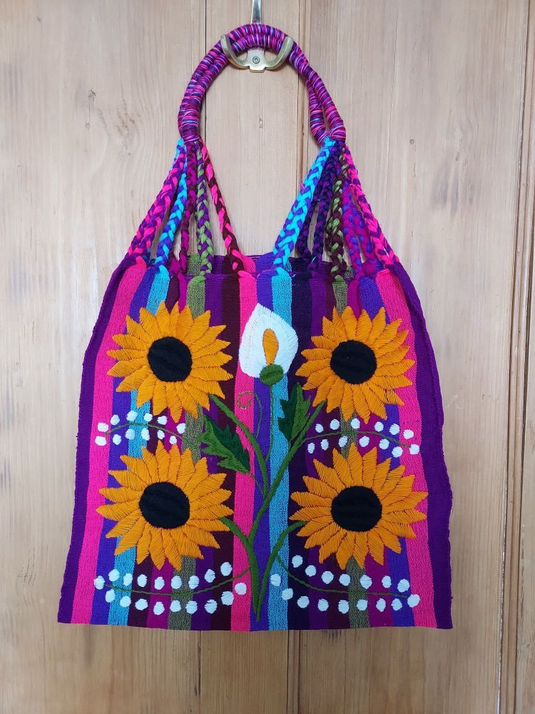 Embroidered Mexican Bag - AA