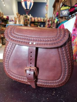 Mexican Leather Bag - 1