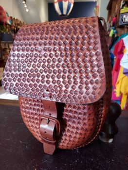 Mexican Leather Bag - 2