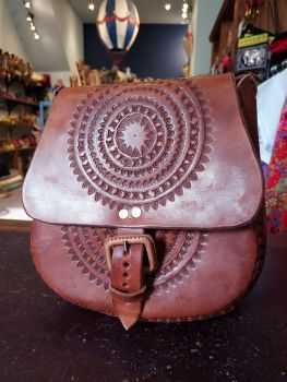 Mexican Leather Bag - 3