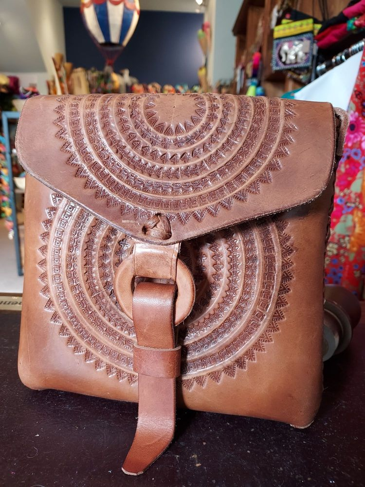 Mexican Leather Bag - 4