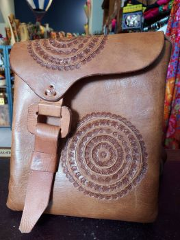 Mexican Leather Bag - 5