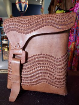 Mexican Leather Bag - 6