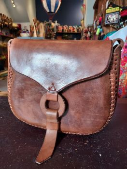 Mexican Leather Bag - 7