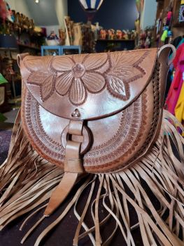 Mexican Leather Bag - 8