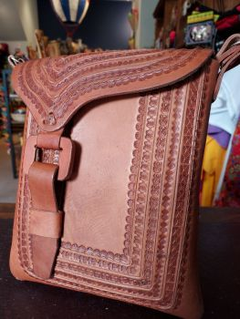 Mexican Leather Bag - 10