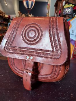 Mexican Leather Bag - 11