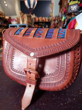 Mexican Leather Bag - 12