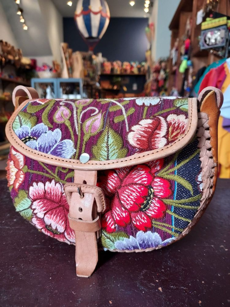 Mexican Leather Bag - 14