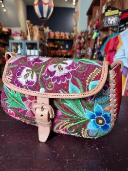 Mexican Leather Bag - 15