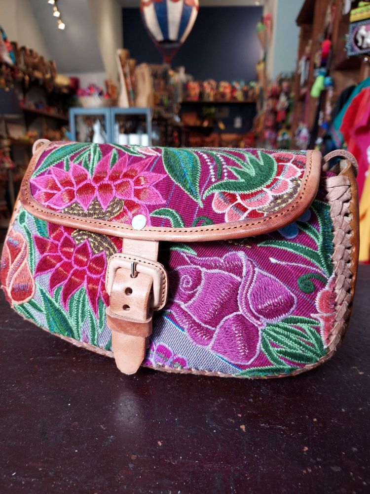 Mexican Leather Bag - 16