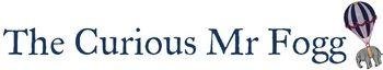 The Curious Mr Fogg......, site logo.