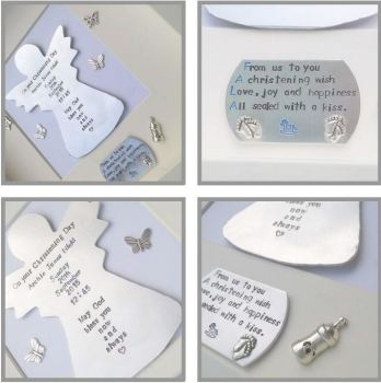 Personalised Keepsake Christening Gift - Framed Christening Gift - Christening Guardian Angel Gift - Unique Christening Gift