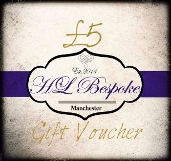 £5 Gift Voucher For H L Bespoke