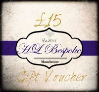 £15 Gift Voucher For H L Bespoke