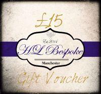 £15 Gift Voucher For H L Bespoke