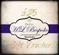 £25 Gift Voucher For H L Bespoke