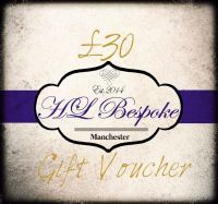 £30 Gift Voucher For H L Bespoke