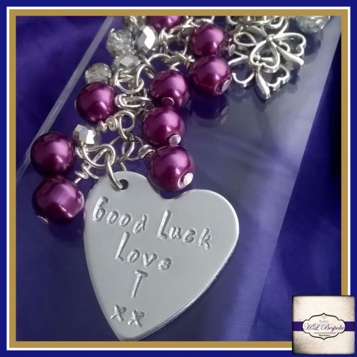 Personalised Bag Charm For Any Occassion; Designed By You!