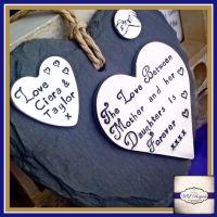 Personalised Mother Daughter Gift - Love Between Mother And Daughter - Gift For Mum - Mothers Day Plaque - Gift for Daughter - Mum Daughter